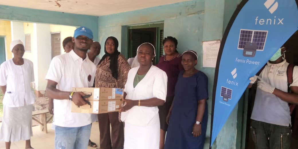 Fenix International donates solar kits to Ijagbo Cottage Hospital
