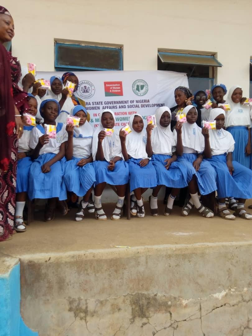 MH-Day: MWAN donates free sanitary pads to over 1000 girls in kwara