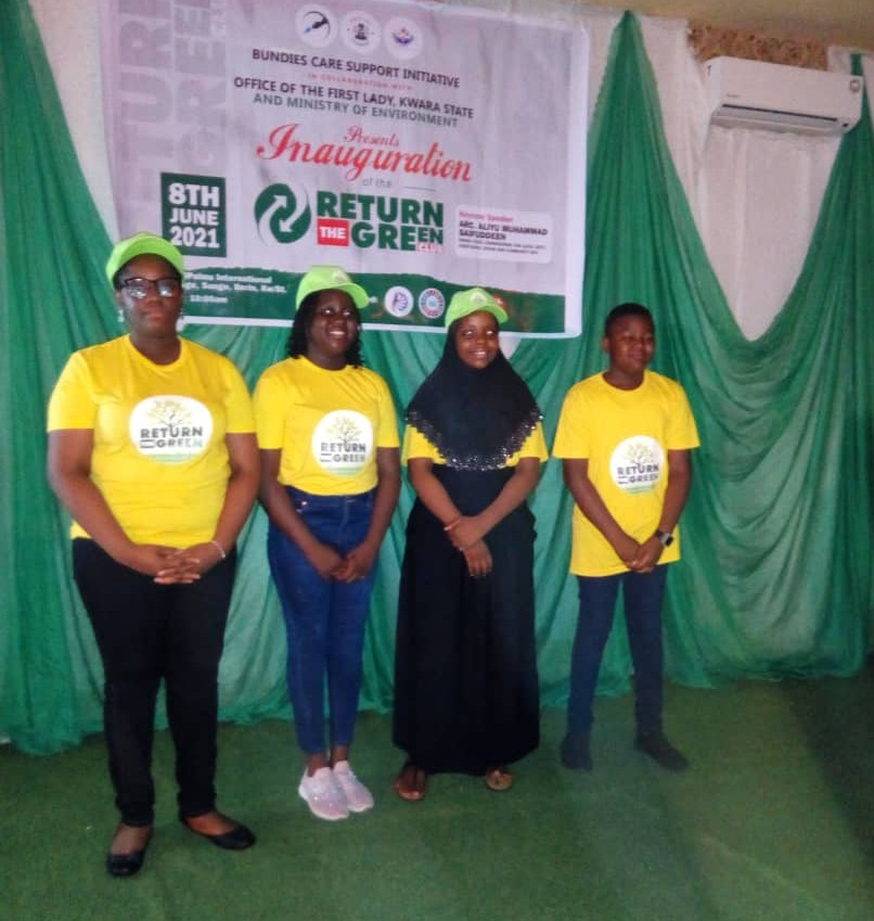 Environment: Children activists fight against climate change in Nigeria