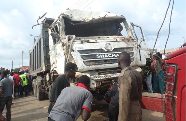 BREAKING: Man killed by tipper truck in Ilora