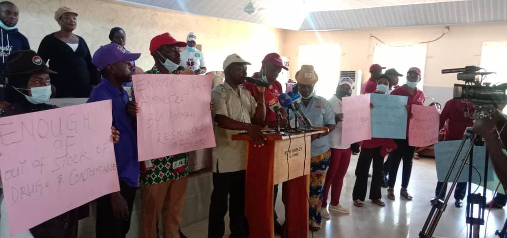 JOHESU-UITH declares indefinite strike